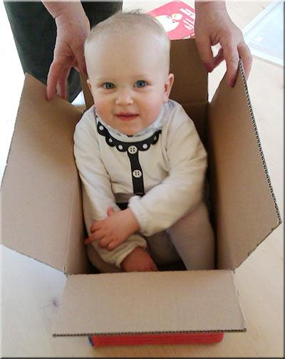 Child in the box