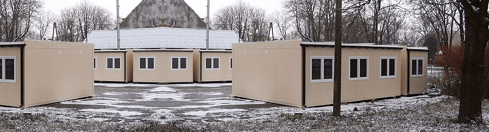 Cheap container houses for sell