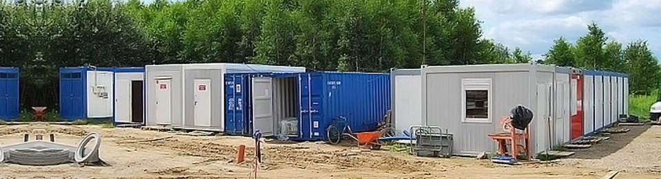 Steel container office