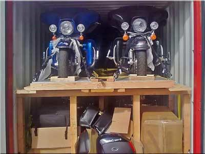 Motorbike transport services - collection and delivery to Australia