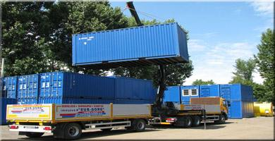 Moving container for hire