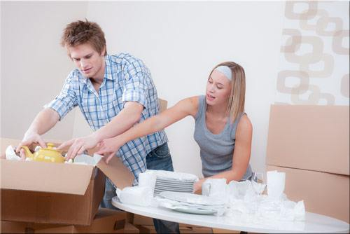 How To Pack Kitchen Items Dishes Plates Glasses And Crockery For Shipping