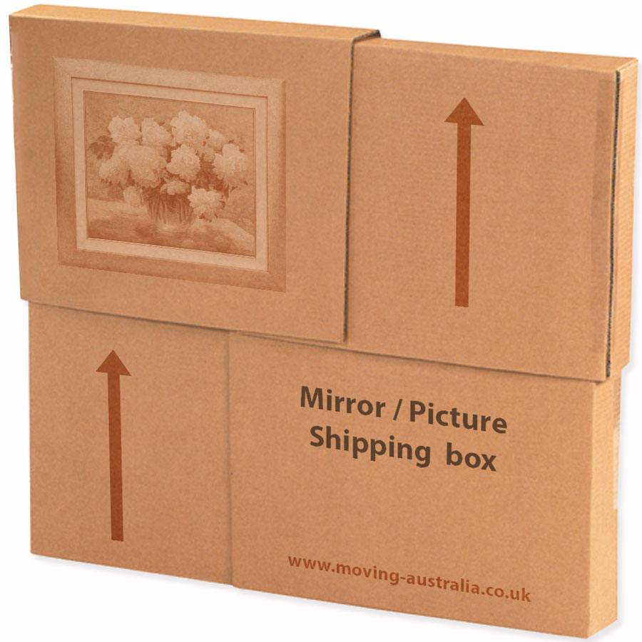 Painting box for shipipng and moving picture prints, canvas art