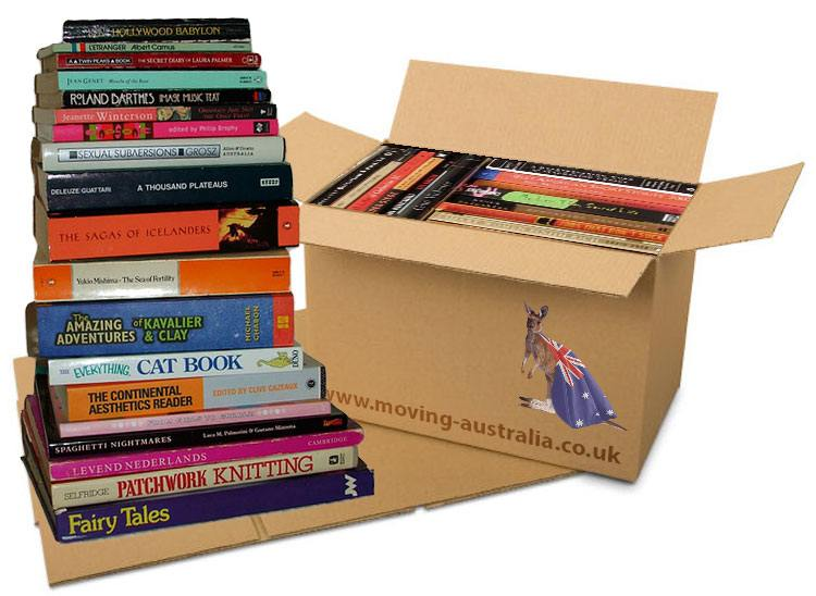 Shipping book boxes
