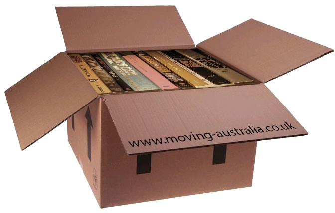 Shipping and sending books to Australia