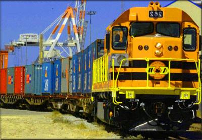 International rail transport to Australia