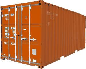 Shipping 20 foot container
